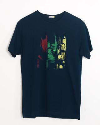 Buy Tricolor Avengers Half Sleeve T-Shirt (AVL) Online India @ Bewakoof.com