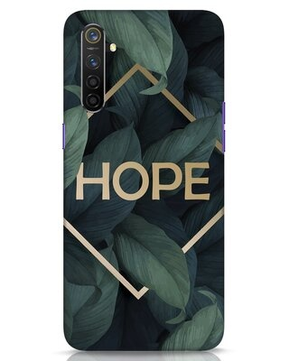 Shop Tropical Leaves Hope Realme 6 Mobile Cover-Front