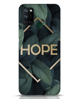 Shop Tropical Leaves Hope Realme 7i Mobile Cover-Front