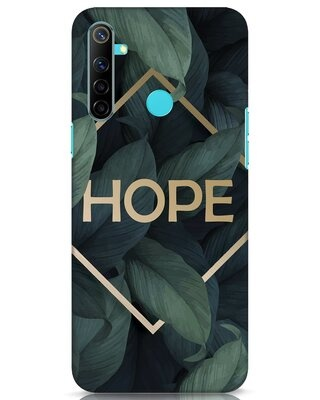 Shop Tropical Leaves Hope Realme Narzo 10 Mobile Cover-Front