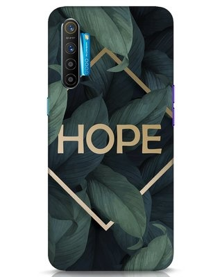 Shop Tropical Leaves Hope Realme XT Mobile Cover-Front