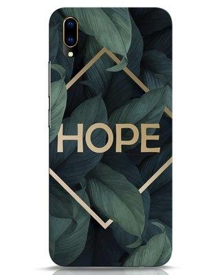 Shop Tropical Leaves Hope Vivo V11 Pro Mobile Cover-Front