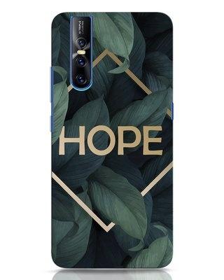 Shop Tropical Leaves Hope Vivo V15 Pro Mobile Cover-Front
