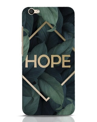 Shop Tropical Leaves Hope Vivo V5 Mobile Cover-Front