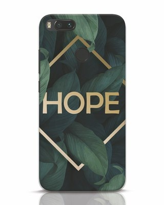 Shop Tropical Leaves Hope Xiaomi Mi A1 Mobile Cover-Front