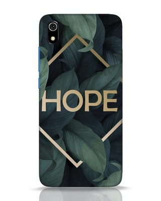Shop Tropical Leaves Hope Xiaomi Redmi 7A Mobile Cover-Front
