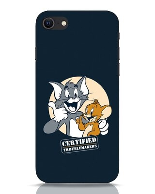 Shop Troublemakers iPhone SE 2020 Mobile Cover-Front