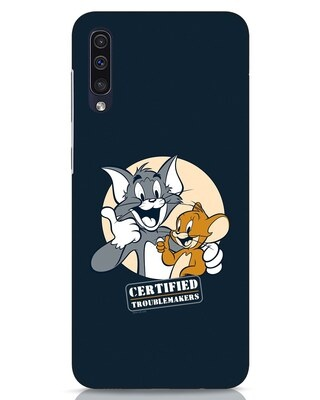 Shop Troublemakers Samsung Galaxy A50 Mobile Cover-Front