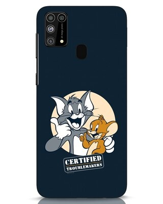 Shop Troublemakers Samsung Galaxy M31 Mobile Cover-Front