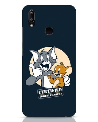 Shop Troublemakers Vivo Y91 Mobile Cover-Front