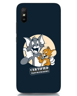 Shop Troublemakers Xiaomi Redmi 9A Mobile Cover-Front