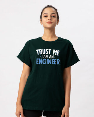 Shop Trust An Engineer Boyfriend T-Shirt-Front