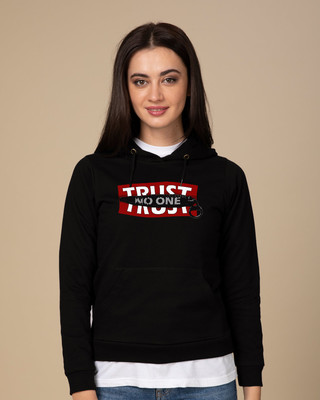 Shop Trust Chain Fleece Hoodies-Front
