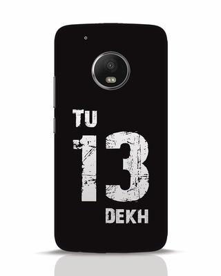 Shop Tu 13 Dekh Moto G5 Plus Mobile Cover-Front