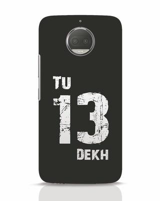 Shop Tu 13 Dekh Moto G5s Plus Mobile Cover-Front