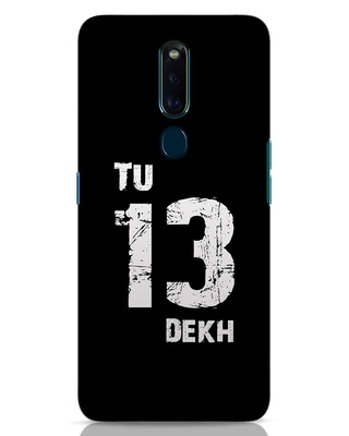 Shop Tu 13 Dekh Oppo F11 Pro Mobile Cover-Front