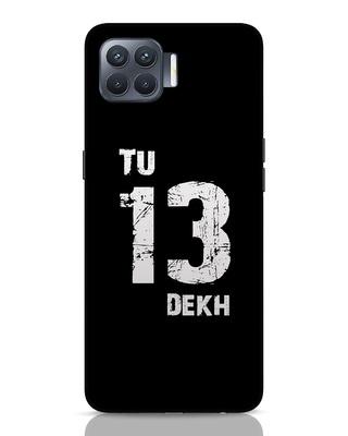 Shop Tu 13 Dekh Oppo F17 Pro Mobile Cover-Front