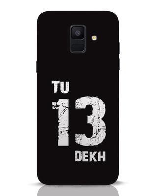Shop Tu 13 Dekh Samsung Galaxy A6 2018 Mobile Cover-Front
