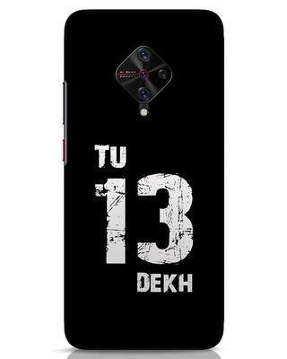 Shop Tu 13 Dekh Vivo S1 Pro Mobile Cover-Front