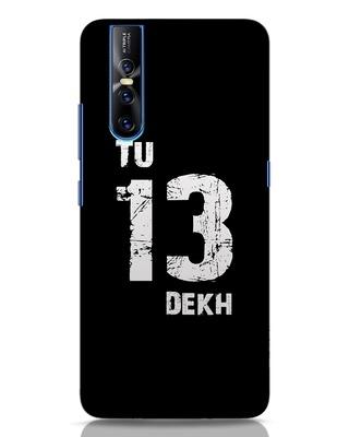 Shop Tu 13 Dekh Vivo V15 Pro Mobile Cover-Front