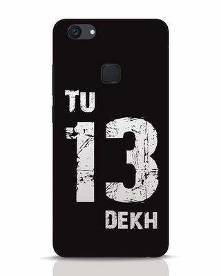 Shop Tu 13 Dekh Vivo V7 Plus Mobile Cover-Front
