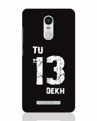 Shop Tu 13 Dekh Xiaomi Redmi Note 3 Mobile Cover-Front
