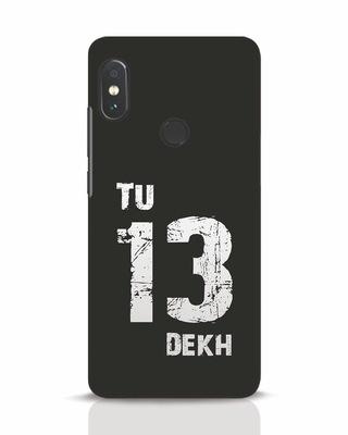 Shop Tu 13 Dekh Xiaomi Redmi Note 5 Pro Mobile Cover-Front