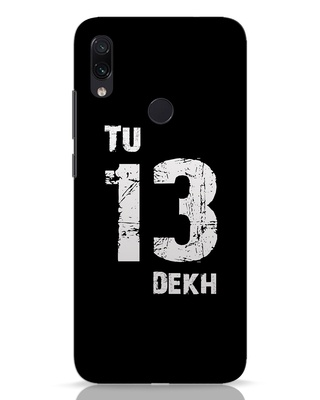 Shop Tu 13 Dekh Xiaomi Redmi Note 7 Pro Mobile Cover-Front