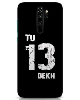 Shop Tu 13 Dekh Xiaomi Redmi Note 8 Pro Mobile Cover-Front