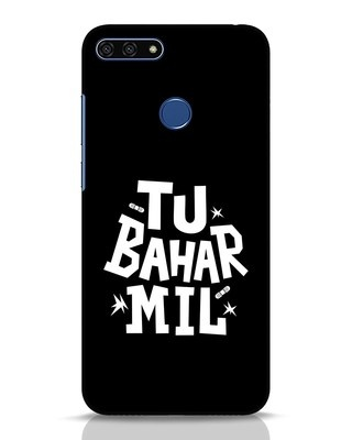 Shop Tu Bahar Mil Huawei Honor 7A Mobile Cover-Front