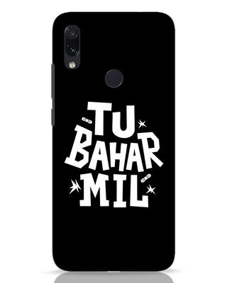 Shop Tu Bahar Mil Xiaomi Redmi Note 7 Pro Mobile Cover-Front