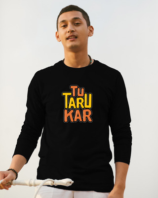 Shop Tu Taro Kar Full Sleeve T-Shirt-Front