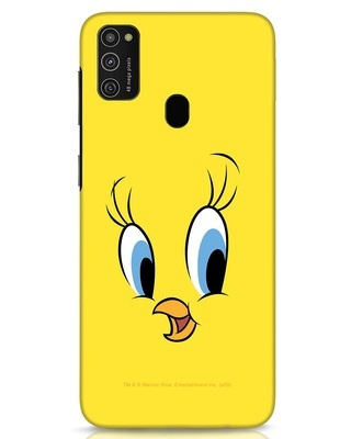 Shop Tweety Samsung Galaxy M21 Mobile Cover-Front