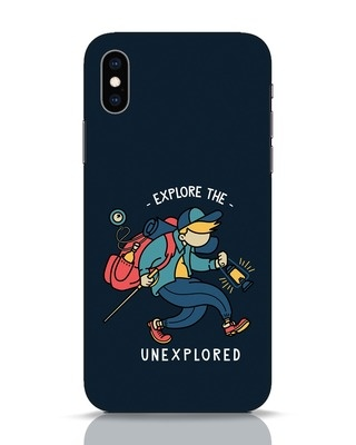 Shop Unexplored iPhone XS Mobile Cover-Front