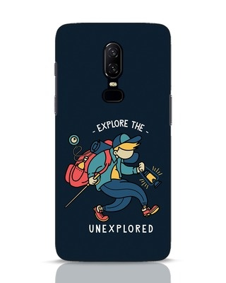 Shop Unexplored OnePlus 6 Mobile Cover-Front