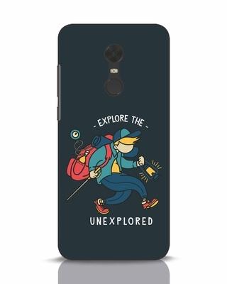 Shop Unexplored Xiaomi Redmi Note 5 Mobile Cover-Front