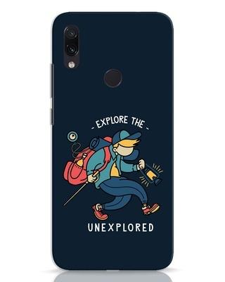 Shop Unexplored Xiaomi Redmi Note 7 Mobile Cover-Front