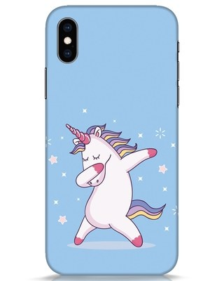 Shop Unicorn iPhone XS Mobile Cover-Front