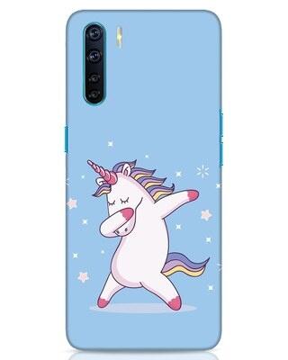 Shop Unicorn Oppo F15 Mobile Cover-Front