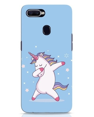 Shop Unicorn Oppo F9 Pro Mobile Cover-Front