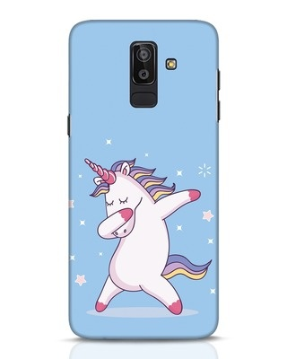 Shop Unicorn Samsung Galaxy J8 Mobile Cover-Front