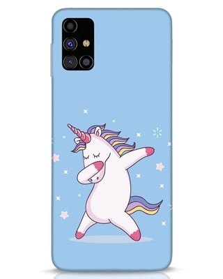 Shop Unicorn Samsung Galaxy M31s Mobile Cover-Front