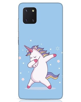 Shop Unicorn Samsung Galaxy Note 10 Lite Mobile Cover-Front