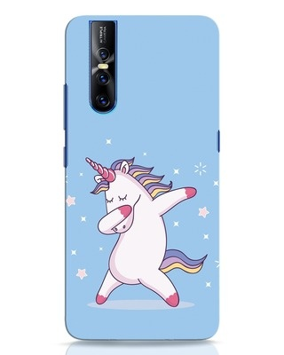 Shop Unicorn Vivo V15 Pro Mobile Cover-Front