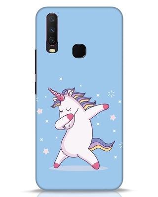 Shop Unicorn Vivo Y17 Mobile Cover-Front