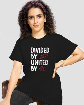 Shop United WI FI Boyfriend T-Shirts-Front