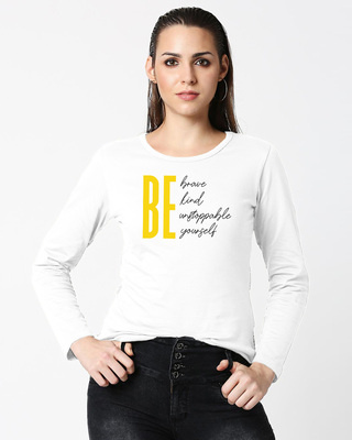 Shop Unstoppable Woman T-Shirt-Front