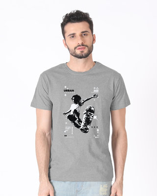 Urban Skater Half Sleeve T-Shirt