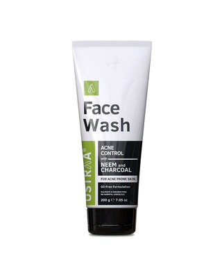 Shop Ustraa Face Wash-Neem & Charcoal - 200g-Front