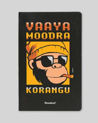 Shop Vaaya Mudra Korang Notebook-Front